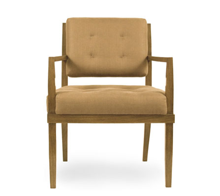 Pull-up Open Arm Chair